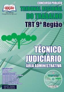 Apostila TRT9 PR 2015 COMPLETA - Técnico Judiciário pdf