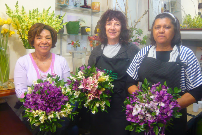 Workshop de de Arte Floral Sede - SP