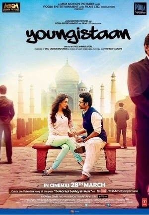 Watch Youngistaan (2014) Non Retail DVDRip Hindi Full Movie Watch Online For Free Download