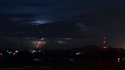 Malaysia beautiful lightning