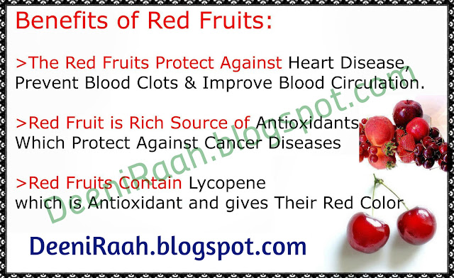 Health Benefits of Red Fruits
