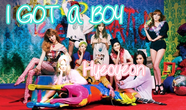 i got a boy hyeoyeon
