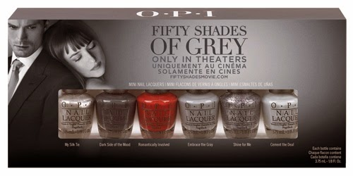 Dino's Beauty Diary - 500 Followers Giveaway - Fifty Shades of Grey OPI Nail Polish