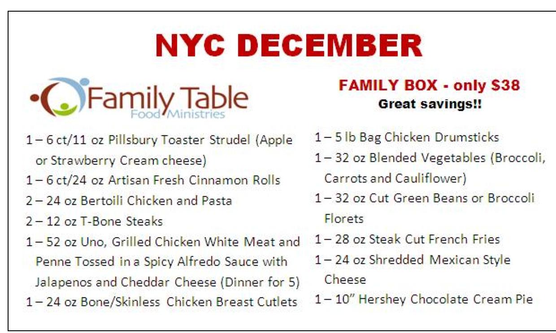 Roosevelt islander online low cost meals for roosevelt for Table 9 menu