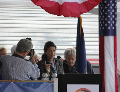 Senator Snowe in Freeport