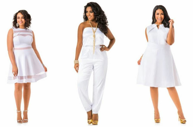 White Plus Size Fashion