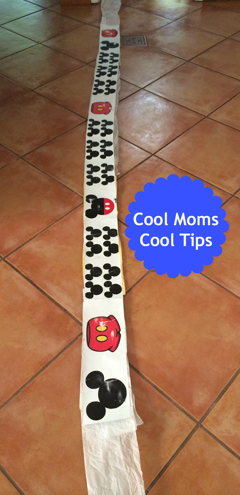 cool moms cool tips finish line ribbon for a race