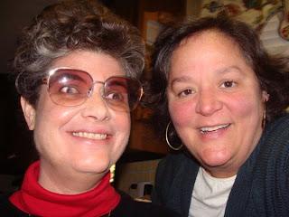 Laurel with friend Joyce Gresh