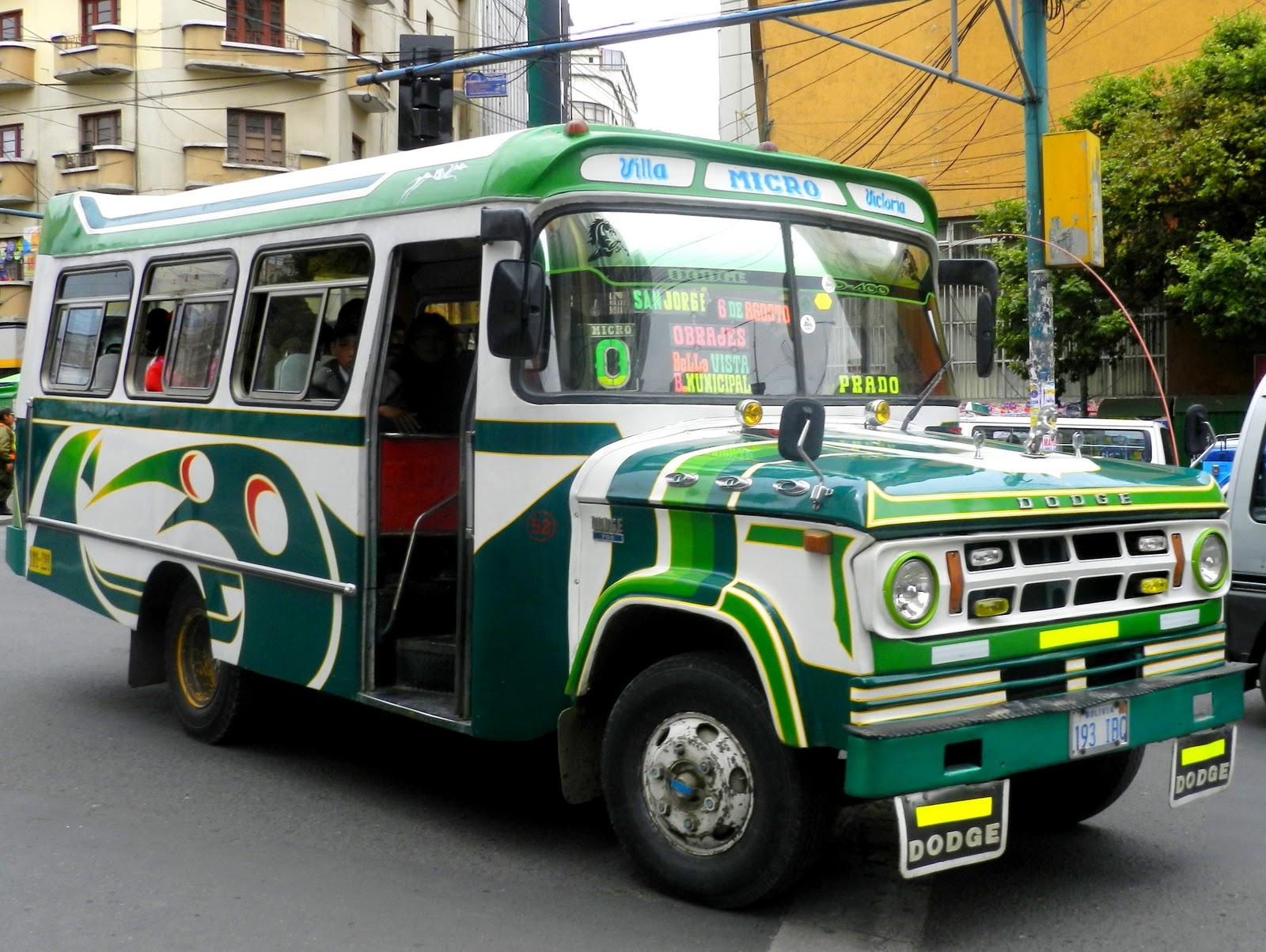 Around Bolivia: Transportation in La Paz...............