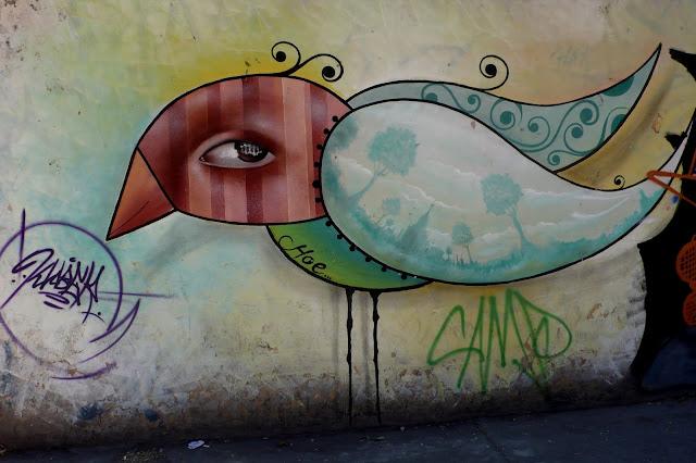 street art santiago de chile quinta normal arte callejero hoe