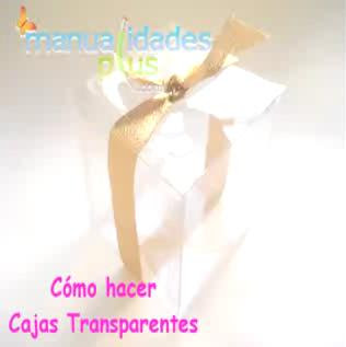 Cajas Transparentes para Peluches: Patrones y Video