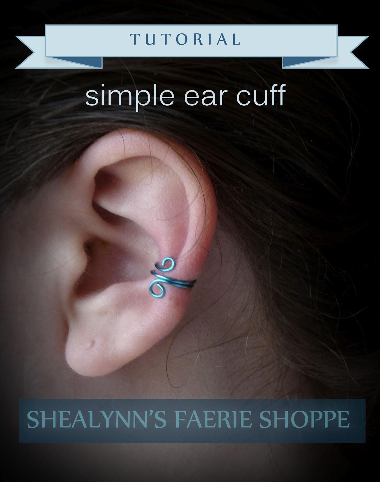 simple ear cuff tutorial shealynn s faerie shoppe