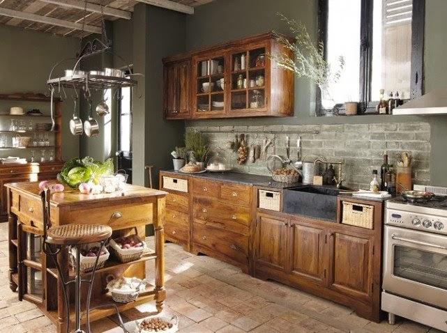 Deco] estilo r̼stico en la cocina Рvirlova style