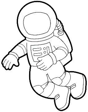 astronaut print outs - photo #2