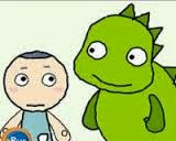http://www.learnenglish.org.uk/kids/stories/hungry-dragon.swf