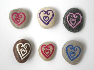 Reciclatex cómo hacer corazones de piedra