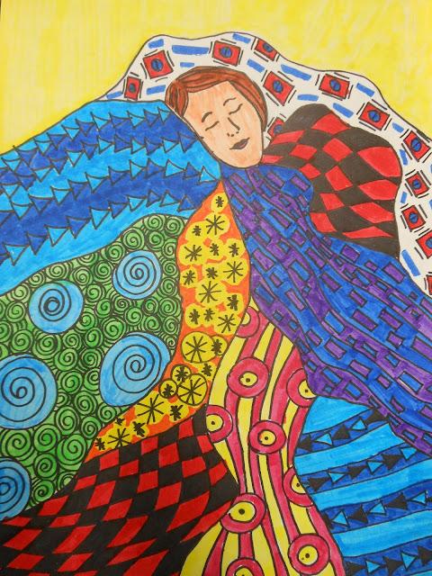 Line Art Quilt Pattern : Art to go line pattern crazy quilt