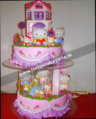 torta hello kitty 1 lima