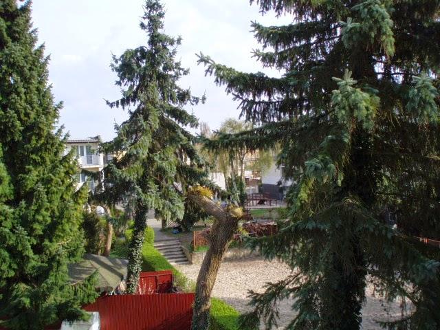 Von unserem Balkon
