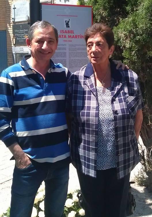 Angelita Vidal y Juan Carlos
