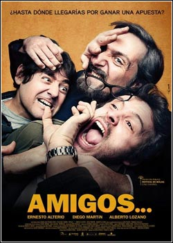 Modelo Capa Download   Amigos   BRRip AVi (2011)