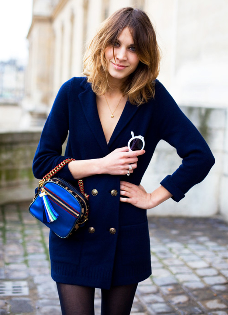 Alexa Chung Hair Color 1