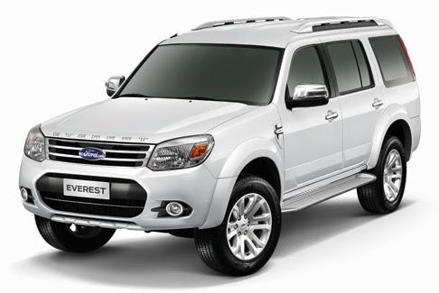 thuê xe Ford Everest