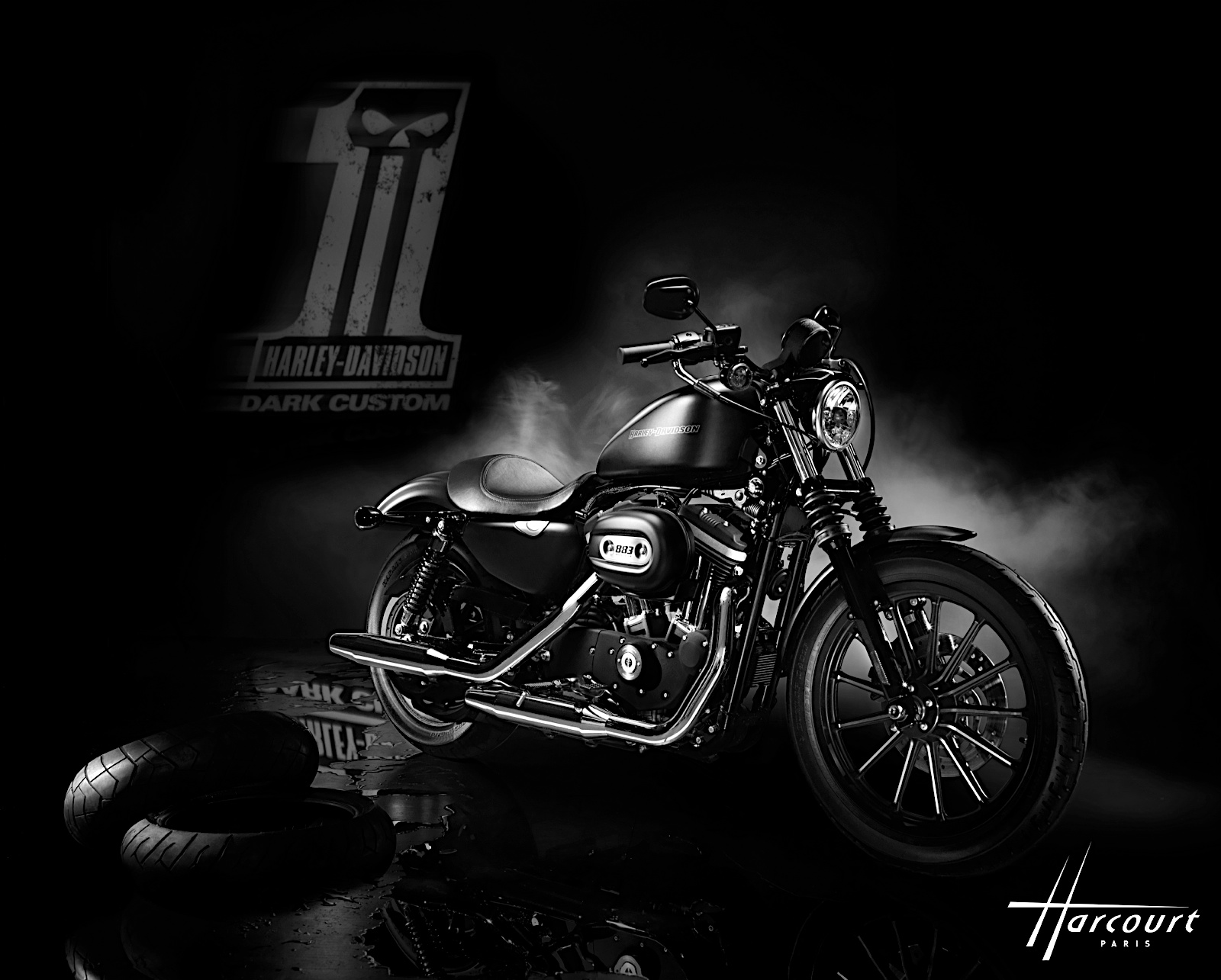 Harley Sportster Nightster Custom Free Hd Wallpaper 2000 Xl 883 Wiring Harness The And Buell Motorcycle Davidson Iron