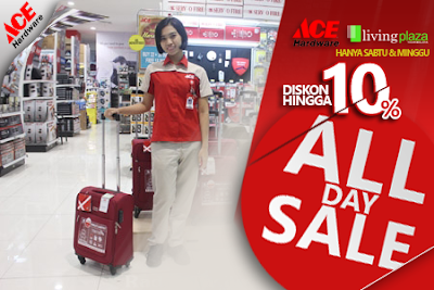 All Day Sale ACE Hardware Living Plaza Tasikmalaya Beri Potongan 10 Persen