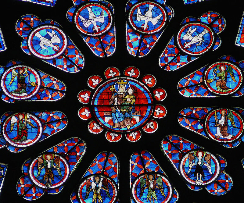 Chartres Cathedrals North Rose Window