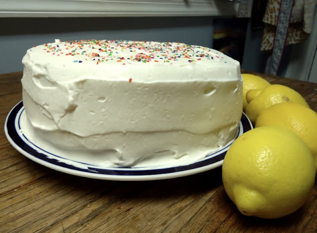 ... Read: Cake of the Week: Lemon Layer Cake with Whipped Cream Frosting