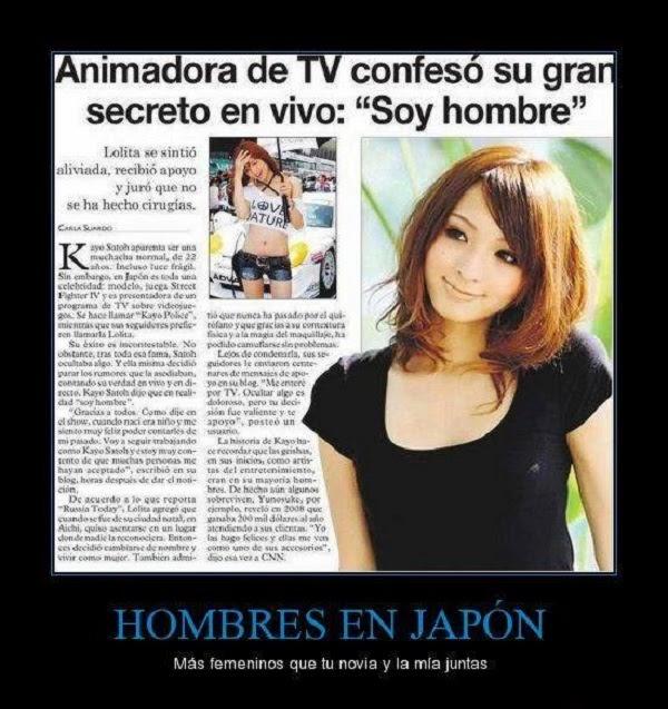 Animadora japonesa y su secreto