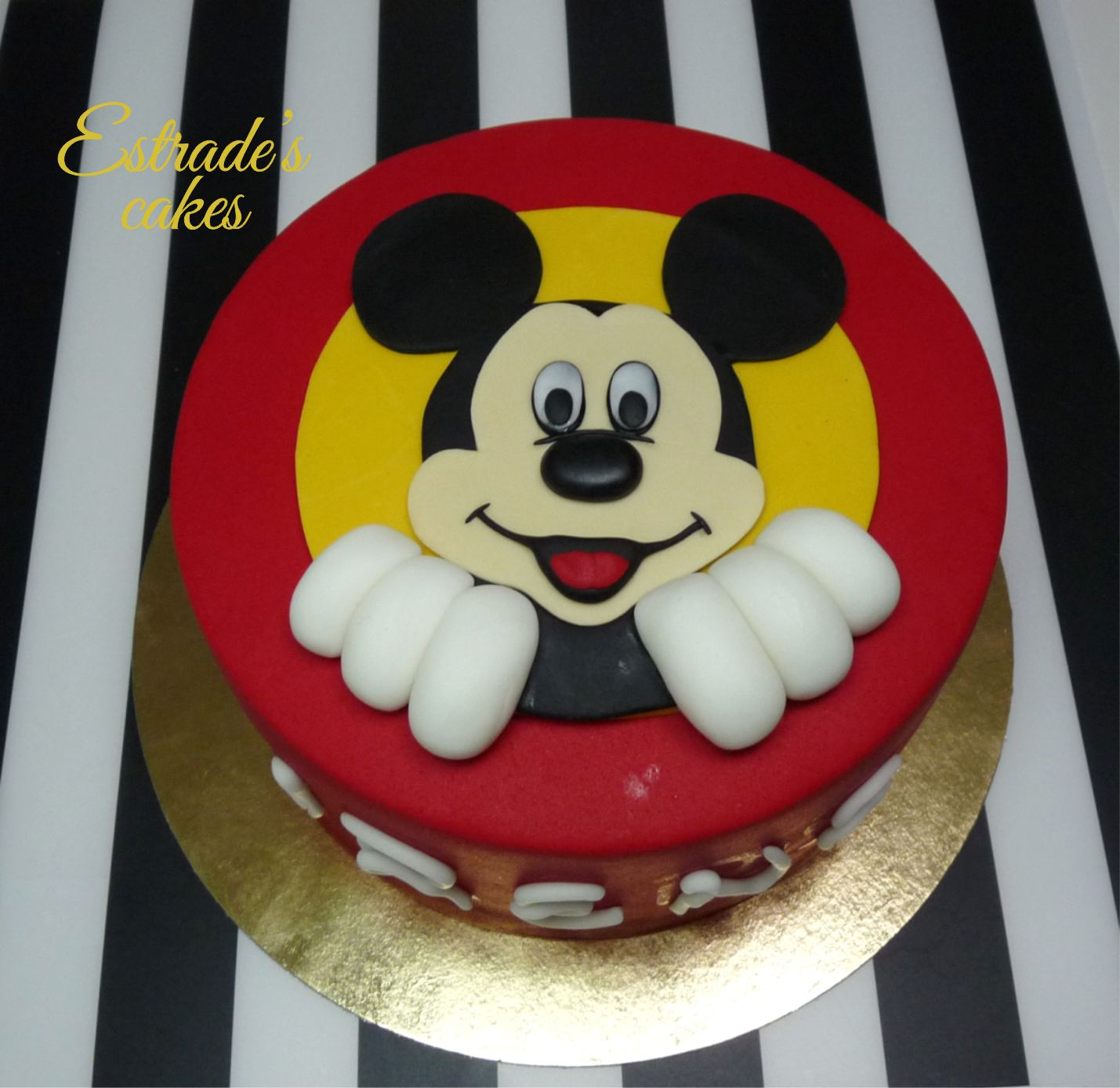 tarta Mickey Mouse - 5