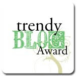 Trendy Blog Award! :D