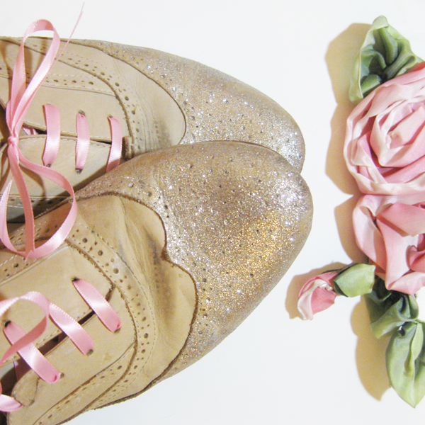 DIY: How to Add Glitter To Your Shoes
