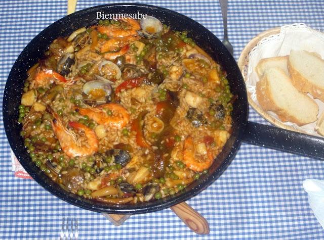 arroz con jibia