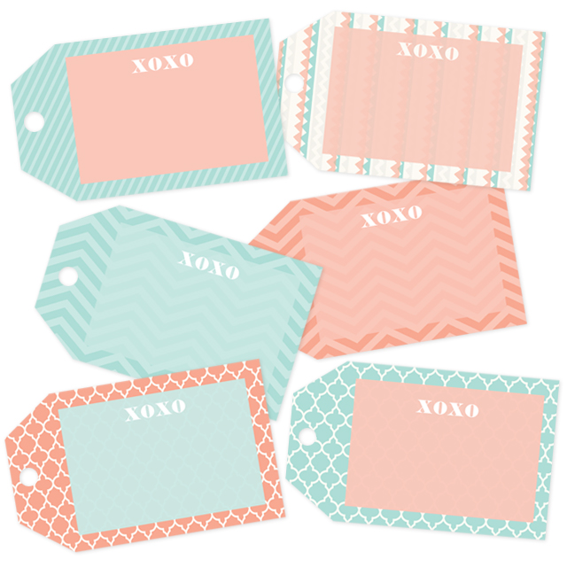 Baby Shower Gift Tags Printable Free: Oh So Lovely Blog: FREE PRINTABLE GIFT TAGS