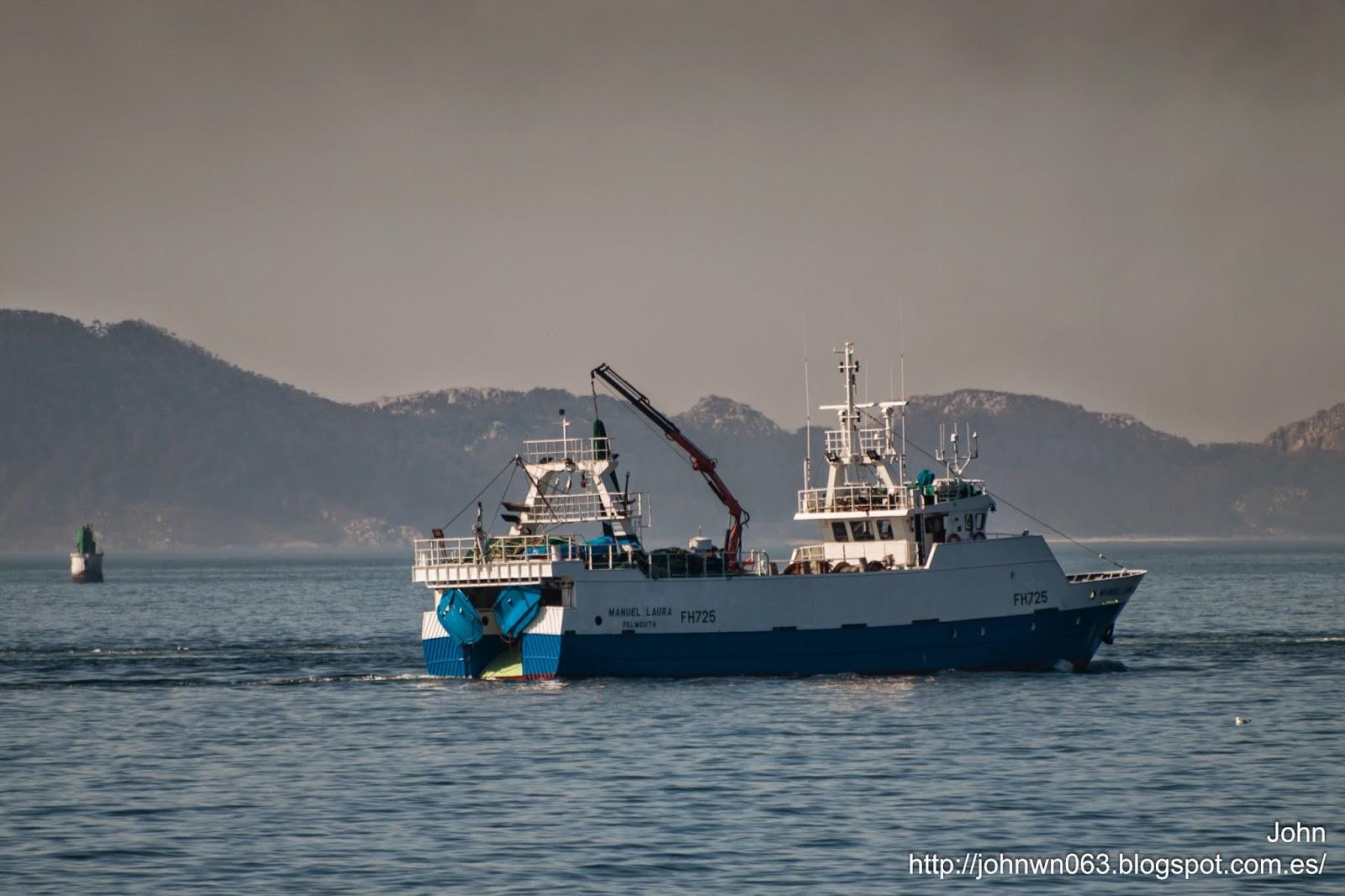fotos de barcos, manuel laura, imagenes de barcos, arrastrero, vigo, armon, pesquero