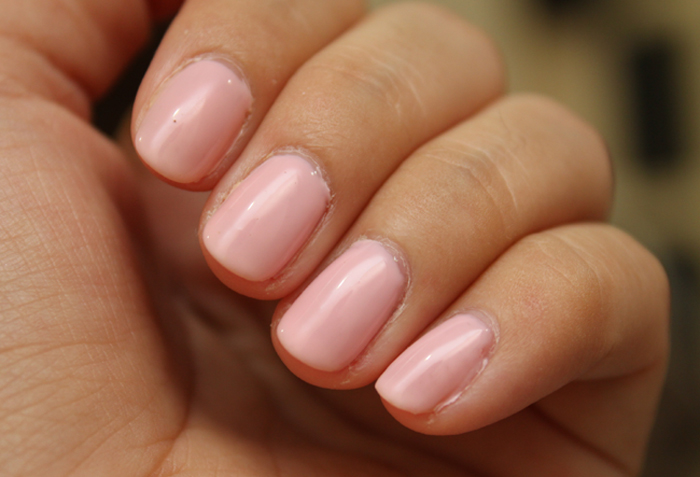 Gel Manicure NOTD + Review