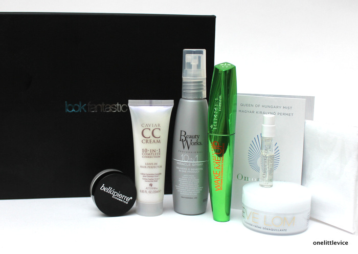 one little vice beauty blog: lookfantastic august beauty box contents