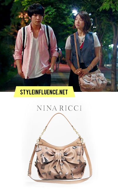 Leather Shoulder Bags   on The Styleinfluence Scrapbook  Shoulder Leather Bag  Nina Ricci   Park