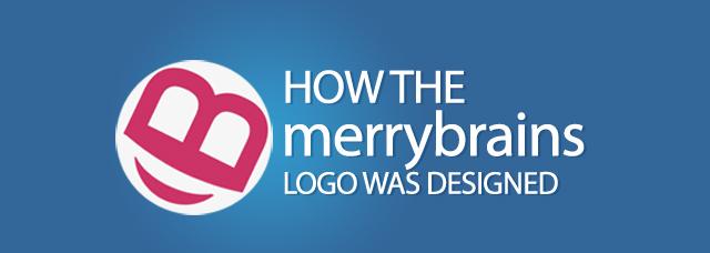How we designed the merrybrains logo
