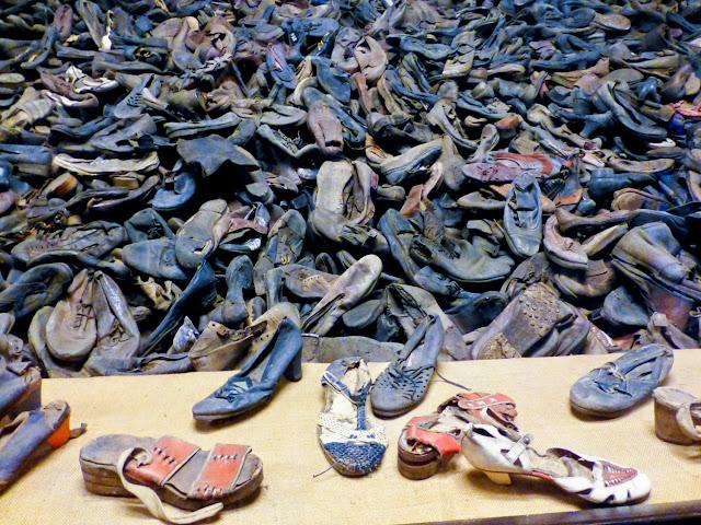 Auschwitz, zapatos de los prisioneros