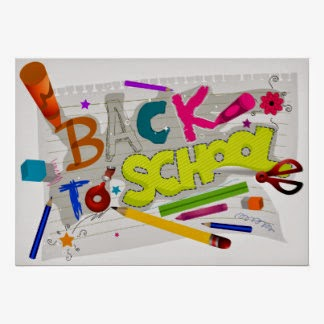 Back to School poster by bnp