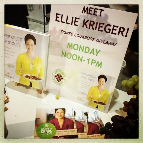 FNCE celebrity sighting: Ellie Krieger