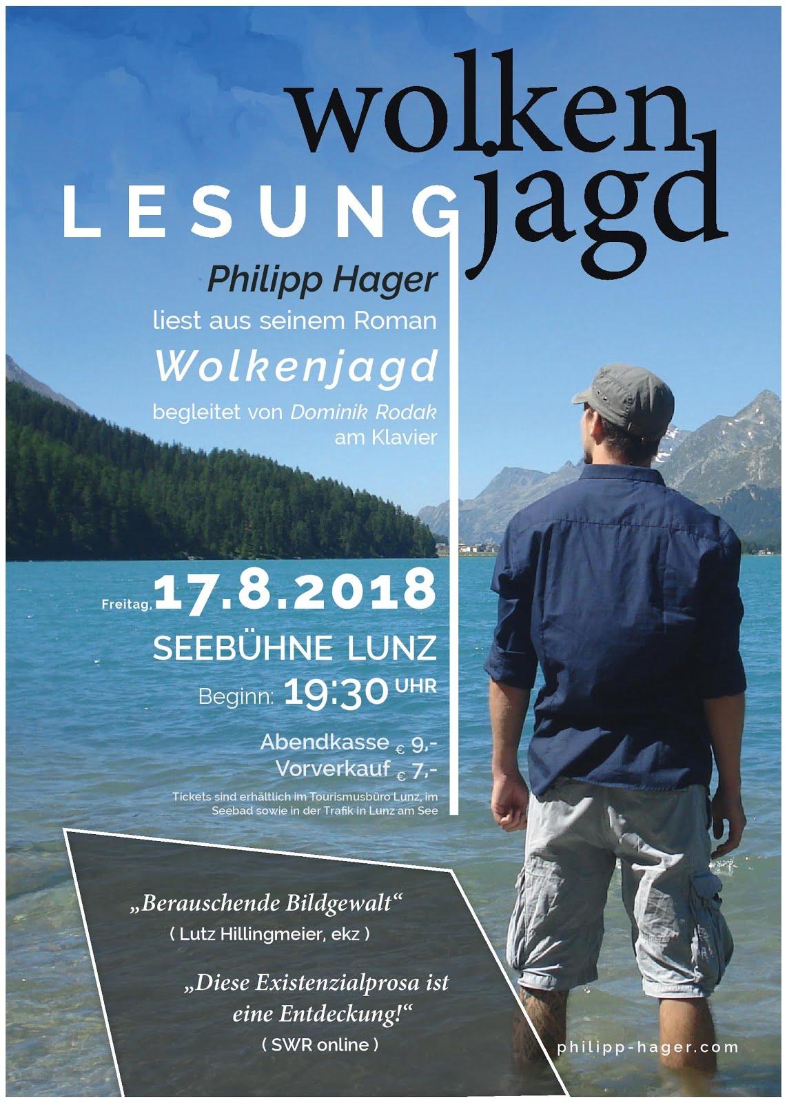 Lesung Philipp Hager