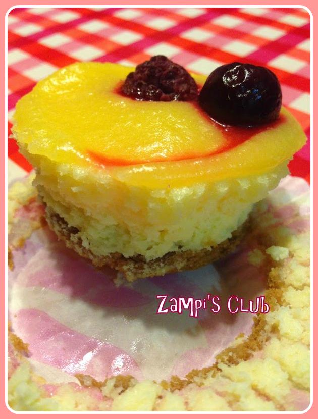Receta mini tartas de queso y limon