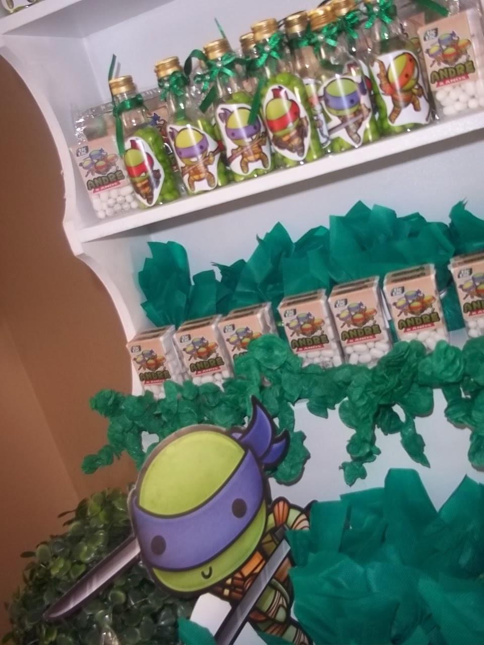 festa jardim da clarilu : festa jardim da clarilu:abá Festas: Decoração Tartarugas Ninja