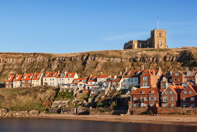 St Mary's Church in Whitby North Yorkshire by Martyn Ferry Photography