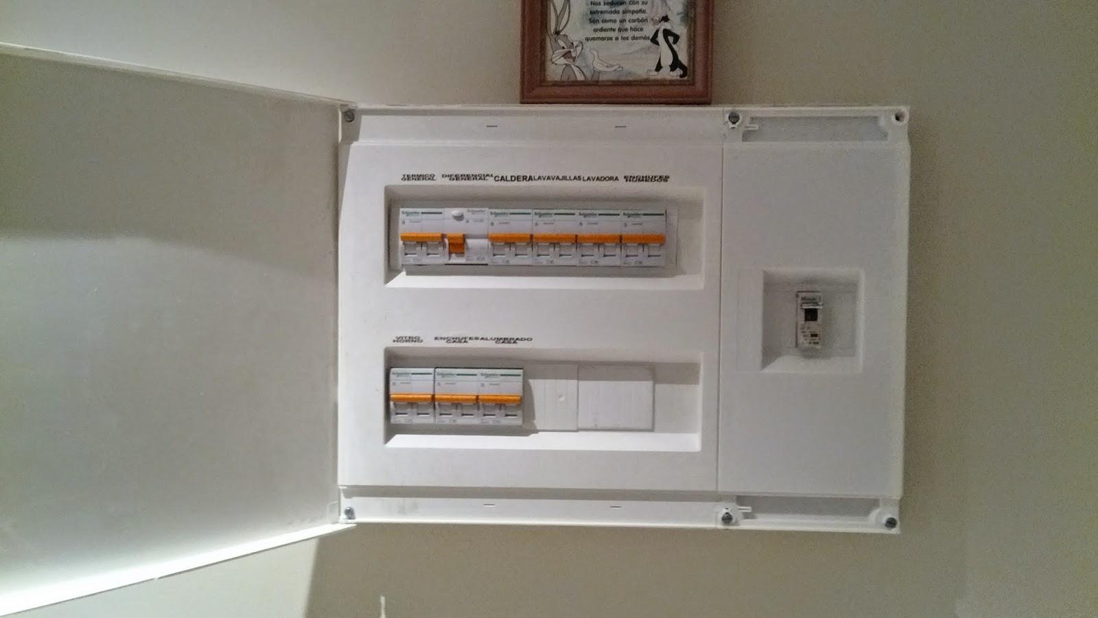 Abt electricidad s l for Cuadro electrico de una vivienda